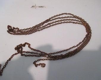 chain bronze pink 130cm