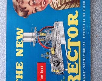 Gilbert Erector set building booklet 1951