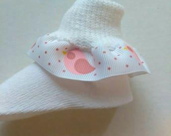 Infant ruffle socks, baby shower socks, church socks, baby ruffle socks, animal socks, infant colored ruffle socks, satin ruffle socks