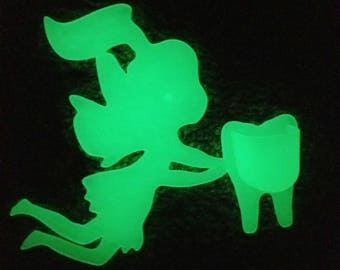 Modern Day Glow in the Dark Tooth Fairy Holder