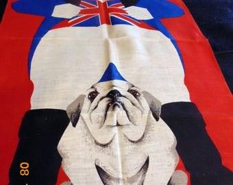 ulster linen tea towel
