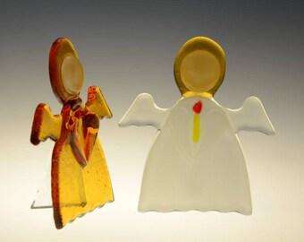 Handmade glass angel