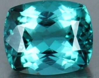 1.65 Ct FLAWLESS Brazilian Blue Natural Paraiba Tourmaline Gemstone 7 x 6 x 5mm