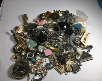 Jewelry lot, Mixed Pendants, Mixed Charms, lot 6