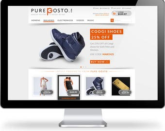 Responsive + Mobile Friendly Ecommerce Website Design for your Business