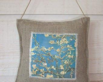 Van Gogh door cushion