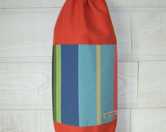 Bag bags (No. 54) orange multicolor