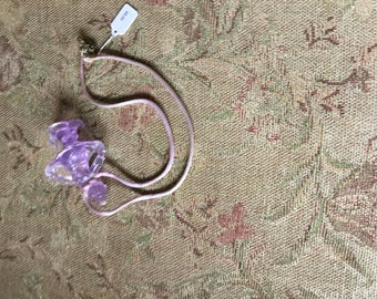 This is a lavender pendant.
