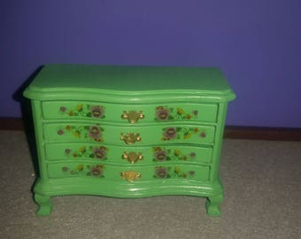 Dollhouse miniatures dresser