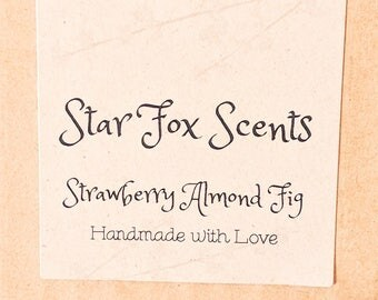NEW SCENT!! Strawberry Almond Fig Candle Tin