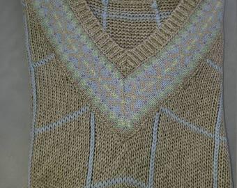 Beautiful Ralph Lauren V-Neck Sweater (M)