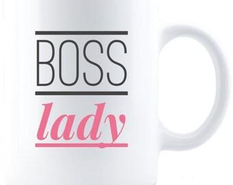 Boss Lady - Coffee Mug - White
