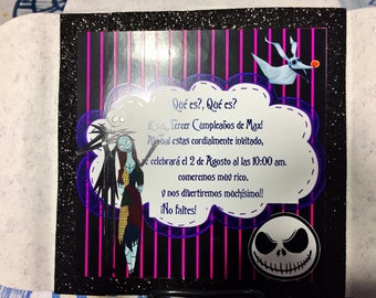 Invitation Jack Skellington