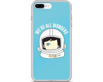 We're All Wonders iPhone Case Choose Kind Wonder Movie RJ Palacio Anti Bullying Kindness Teacher Gift Motivation Available in all all sizes