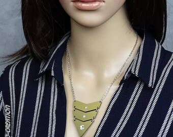"""Necklace collection SYLCO """"INDIANA"""" (gold/black)"""