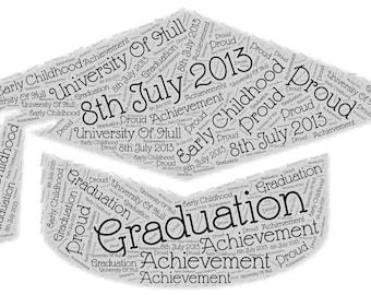 Graduation Word Art