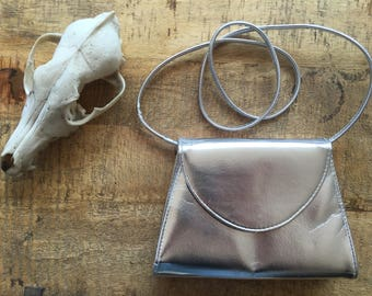 Shimmery Silver Night Out Bag