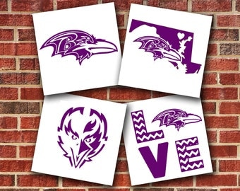 Baltimore Ravens Vinyl Decal Sticker
