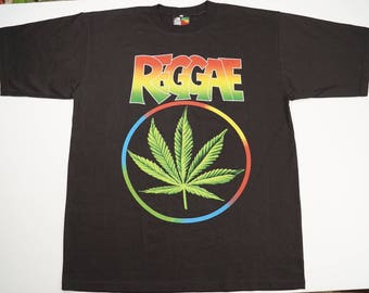ZION Original Rude Bwoy REGGAE Men's T-shirt XXL