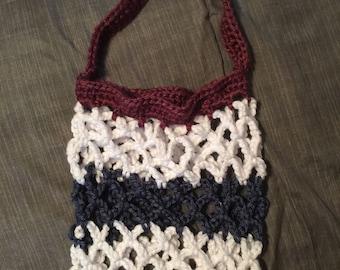 Crochet farmer market bag