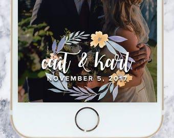 Wedding Snapchat Filter - Geofilter   Snapchat Filter   Wedding Day