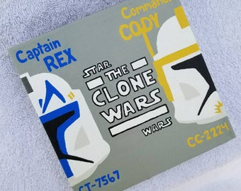 Captain Rex and Commander Cody Clone Wars painting