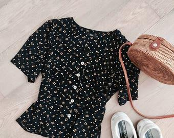 French v blouse