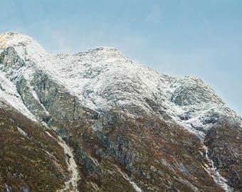 The Peaks Photo Print (Various Sizes)