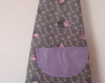 Grey fabrics kids cooking apron