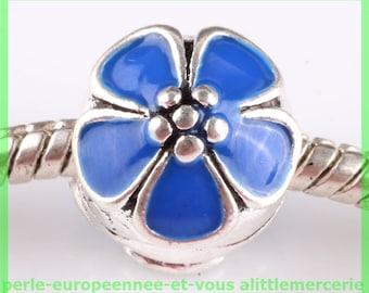 Pearl N627 clip stopper European blocker rhinestones for charms bracelet