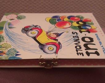Books children's treasure box