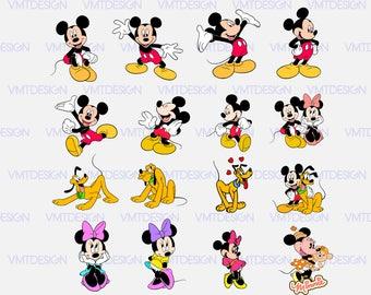 Mickey svg - Mickey mouse svg - Mickey svg files - Mickey clipart - Mickey digital clipart files, files download eps, svg, png, jpg