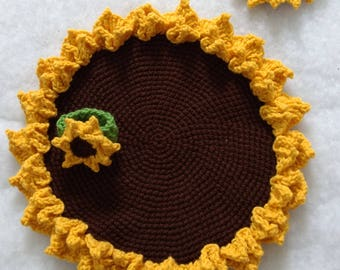 Sunflowers Table Setting