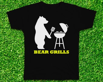 Bear Grills funny Tshirt with multiple variations