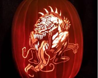 Zombie-n-Zombie, pumpkin, Halloween