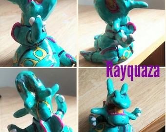 Rayquaza Handmade Sculpture