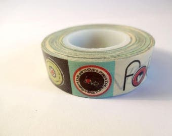 "Washi tape values ""LOVE - FAITH - HOPE"" - Scrapbook - embellishment"
