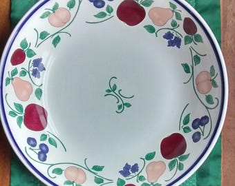 """Princess House Orchard Medley 12"""" Pasta Bowl"""