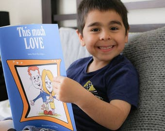 This Much Love - Soft Cover Children's Book - Reading in a Box