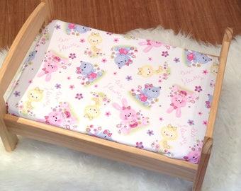 "Cloth cover 60 x 120 cm/crib bedding baby ""bunny"""