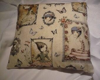 30 cm side zip side elephant pillow
