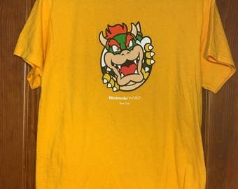 Bowser tshirt from Nintendo store M
