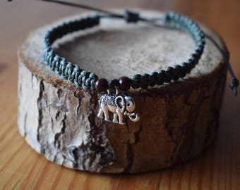 Macrium Bracelet with Elephant