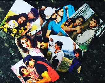 Bollywood Art 90's Romance Novelty Coaster Set