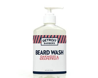 Beard Wash - Oakmoss & Grapefruit