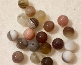 Botswana agate bead