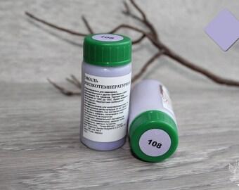 The low temperature enamel. Transparent purple (108)
