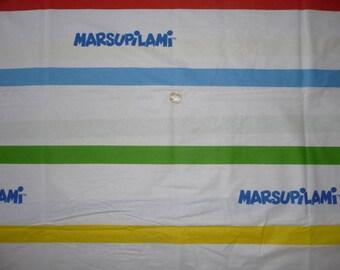 """Child's multicolored striped cotton fabric """"MARSUPILAMI"""""""