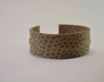 Leather Bracelet 100% made in Italy