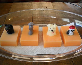 100% Goats Milk Soap With Toy Age 3+!!! Made With All Natural Ingredients And Your Choice OfEssential Oil!!!